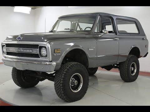 Video of Classic 1970 Chevrolet Blazer - QAK6