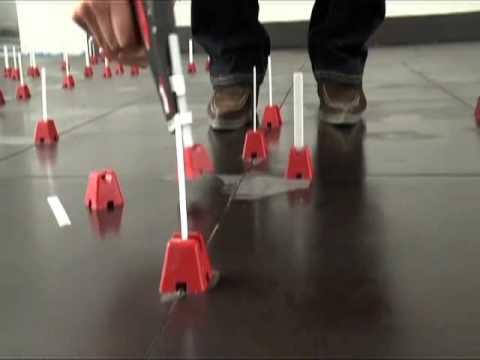 Tuscan Leveling System: sistema brevettato per la posa di piastrelle per pavimenti e rivestimenti