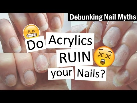 Video Do Acrylics RUIN Your Nails? | Debunking Nail Myths with Nailed It NZ