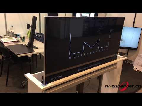 Lift mit Rotation für TV Möbel