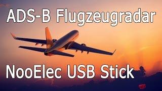 Airspy NooElec ADS Flugzeugscanner und ADS-B Flugzeugradar