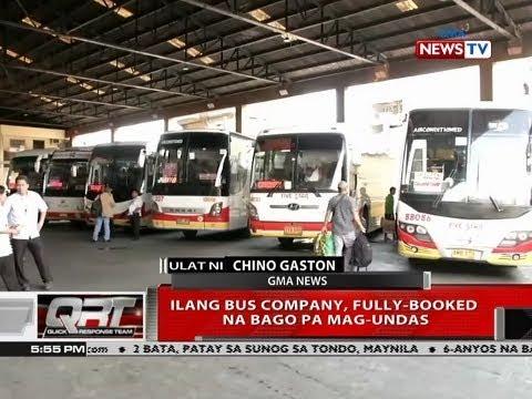[GMA]  QRT: Ilang bus company, fully-booked na bago pa mag-undas