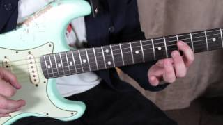 How to Play Who Did You Think I Was by John Mayer - Blues Rock Guitar Lessons Fender