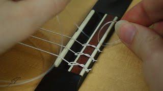 Neue Saiten für die Gitarre - einfacher Saitenwechsel für Anfänger