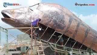 Tugu Belindo Icon Baru Palembang Akan Segera Rampung