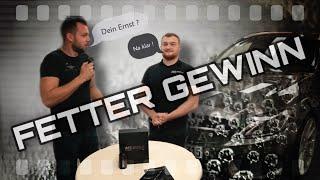 FETTER GEWINN ! | Safe Shield Profi zeigt Verarbeitung von Keramik-Beschichtung Ultra Coat am Benz