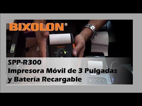 Bixolon SPP-R300 Impresora Móvil Para Tickets de 3 Pulgadas y Batería Recargable
