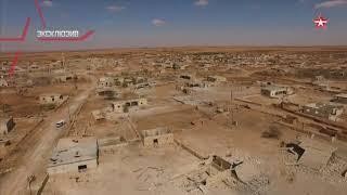 «Столица» секс рабынь ИГИЛ сразу после освобождения сирийской армией: кадры с воздуха