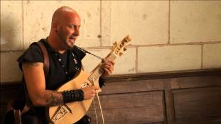 Luc Arbogast , Amazing Singer  ! Medieval Middle ages ! Chant in a Church !