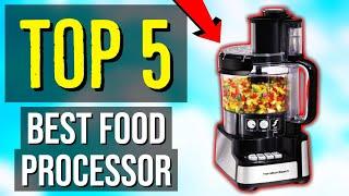 ✅ TOP 5: Best Food Processor 2020