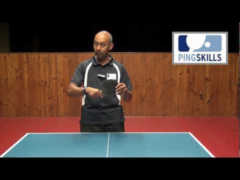 How To Hold a Table Tennis Bat | PingSkills