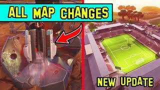 ALL *NEW* MAP CHANGES! BLOCKBUSTER ESCAPED! FORTNITE UPDATE!