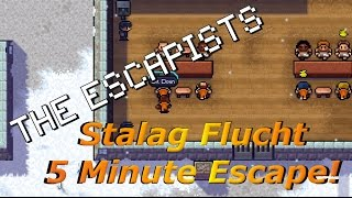 Stalag Flucht - 5 Minute Escape!  | The Escapists [XBOX ONE]