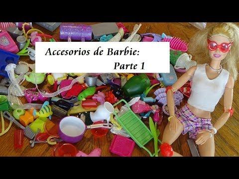 Abriendo Bolsitas con Laurita (Accesorios para Barbie 7/17)   Parte 1