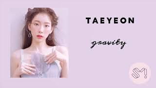 TAEYEON 태연 'Gravity' (OFFICIAL AUDIO)