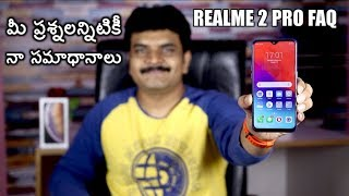 Realme 2 Pro FAQ After one week of usage ll in telugu ll