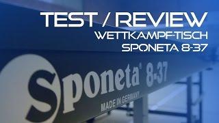 Test/Review: Unboxing Sponeta Tisch S8-37   Tischtennis Helden