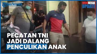 Pecatan TNI di Palembang Jadi Otak Penculikan Anak, Videonya Viral hingga Sempat Rencanakan Tebusan