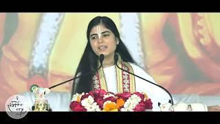 देवी जी का बड़ा ही सुन्दर भाव - Mere Kanha Teri Naukri || मेरे कान्हा तेरी �