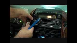 Toyota Sienna Stereo Removal 2004-2010
