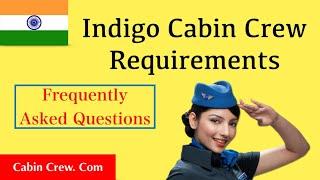Indigo Cabin Crew Requirements