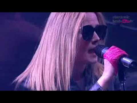 Róisín Murphy - Checkin' On Me (Live @ Electronic Beats 2008)
