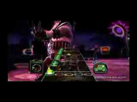 Dragonforce's Guitar Hero III Finger Mangler
