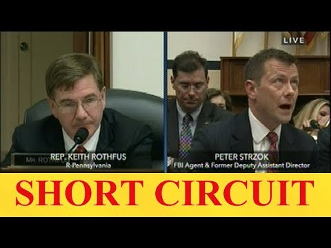 Strzok Blows a Fuse When Asked About Obama, Hillary – Shocking – Video