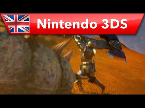 Видео № 1 из игры New Nintendo 3DS XL - Monster Hunter 4 Edition