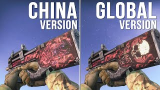 CS:GO - China Version vs Global Version Weapon Skins (Part 02) [Comparison]