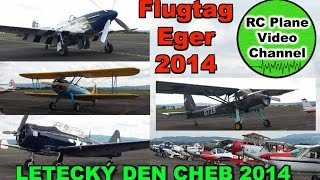 preview picture of video 'Flugtag Airshow Eger - LETECKÝ DEN CHEB 2014 - Letiste Cheb 30.08.2014 - MSG Stiftland - HD'