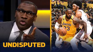 Shannon agrees with Draymond Green on LeBron's discipline leading Lakers to title | NBA | UNDISPUTED