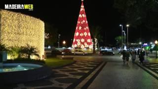 Luces navideñas en Funchal y alrededores 2016