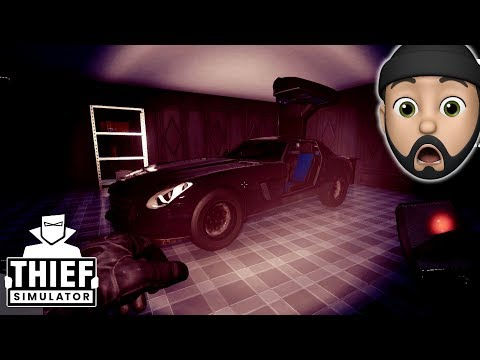 STEALING A SUPERCAR [KUBRA GTS]!!   Thief Simulator #21