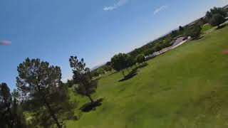 DJI FPV Drone and Motion Flight Stick. Maiden flight for both. Amazing