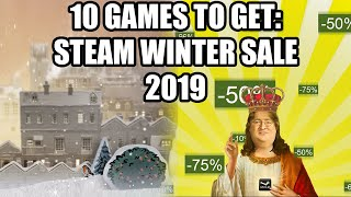 10 Games to Get on the Steam Winter Sale 2019 - Under 20 USD