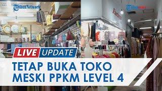 Penjual Pakaian di ITC Kebon Kalapa Bandung Buka Toko Meski PPKM Level 4 Berlaku: Nggak Ada Income