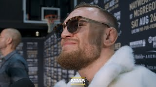 Conor McGregor Reacts to Brooklyn World Tour Stop, Vows to Eventually 'Run Showtime Too'