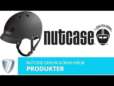 Nutcase Gen3 Blackish hjelm video
