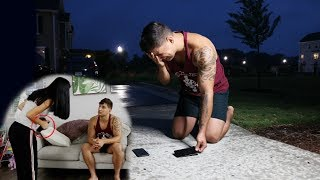 ARE YOU CHEATING ON ME PRANK?! (I BROKE HIS PHONE)