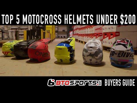 Top 5 Motocross Helmets Under $200 in 2019