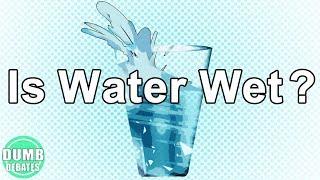 Is Water Wet?   Dumb Debates