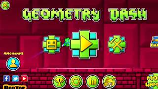 Geometry Dash (2.11) Levels- DownTheDrain, Believex, Ortaria, Inflation, Division + Bonus Supernova!