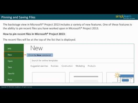 MS Project 2013 Certification  MS Project 2013 Video ... - YouTube