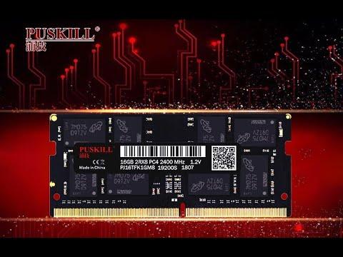 Оперативная память PUSKILL SO-DIMM DDR4 с пожизненной гарантией на чипах Samsung по низким ценам