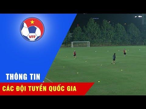 Đội tuyển Việt Nam có buổi tập kín đầu tiên trước trận đấu với Afghanistan