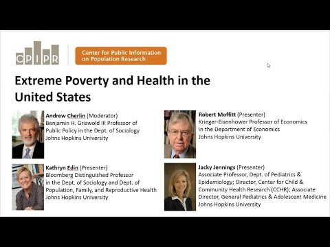 PRB Webinar: Extreme Poverty and Health in the United States Video thumbnail