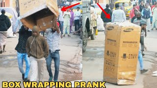 BOX WRAPPING PEOPLE PRANK PART 3! || PRANK IN INDIA - MOST DANGEROUS PRANK EVER || MOUZ PRANK