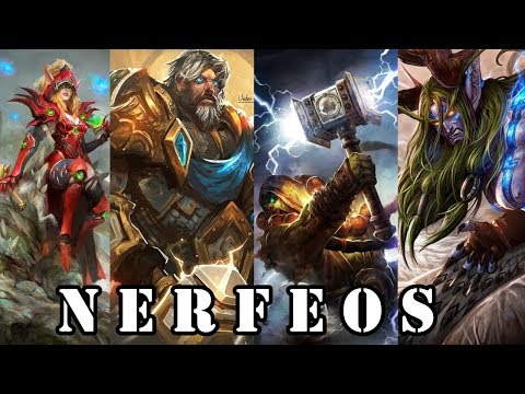 NERFEOS MUY IMPORTANTES QUE CAMBIARÁN MUCHO HEARTHSTONE!