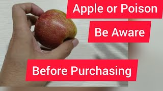 An Apple or a Poison, Awareness, Health Tips, Hindi